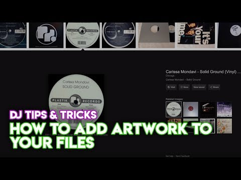 Music Library Tips & Tricks: How To Add Artwork To Your Files