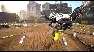 Supercross the Game | 4K 60 FPS GAMEPLAY | RMZ 450 Malcolm Stewart | Titan XP