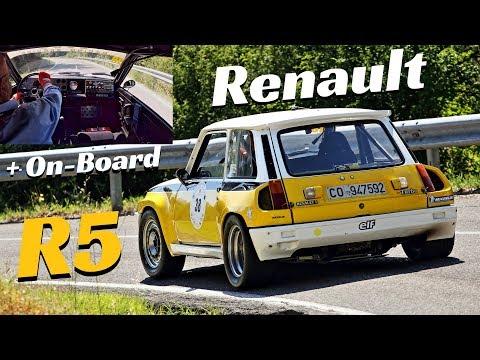 1983 Renault R5 Turbo Tour De Corse + OnBoard Camera - Action & Flames! - Vernasca Silver Flag 2018
