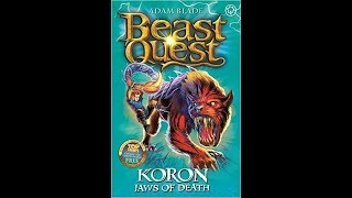 Beast Quest Reviews Series 8 - Koron Jaws Of Death