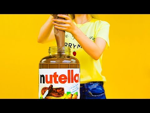 Thumbnail: 13 CUTEST DIYs YOU CAN MAKE AT HOME || DIY GIANT NUTELLA SLIME
