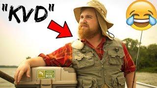 """""""KVD"""" Picks My Lures Fishing CHALLENGE (Loser SHAVES BEARD!!!)"""