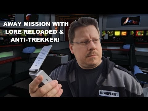 Captain Foley LIVE with ANTI-TREKKER and Lore Reloaded!