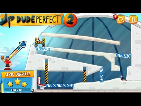 Dude Perfect 2: Level 26 -  Gameplay [Android] 3 Stars