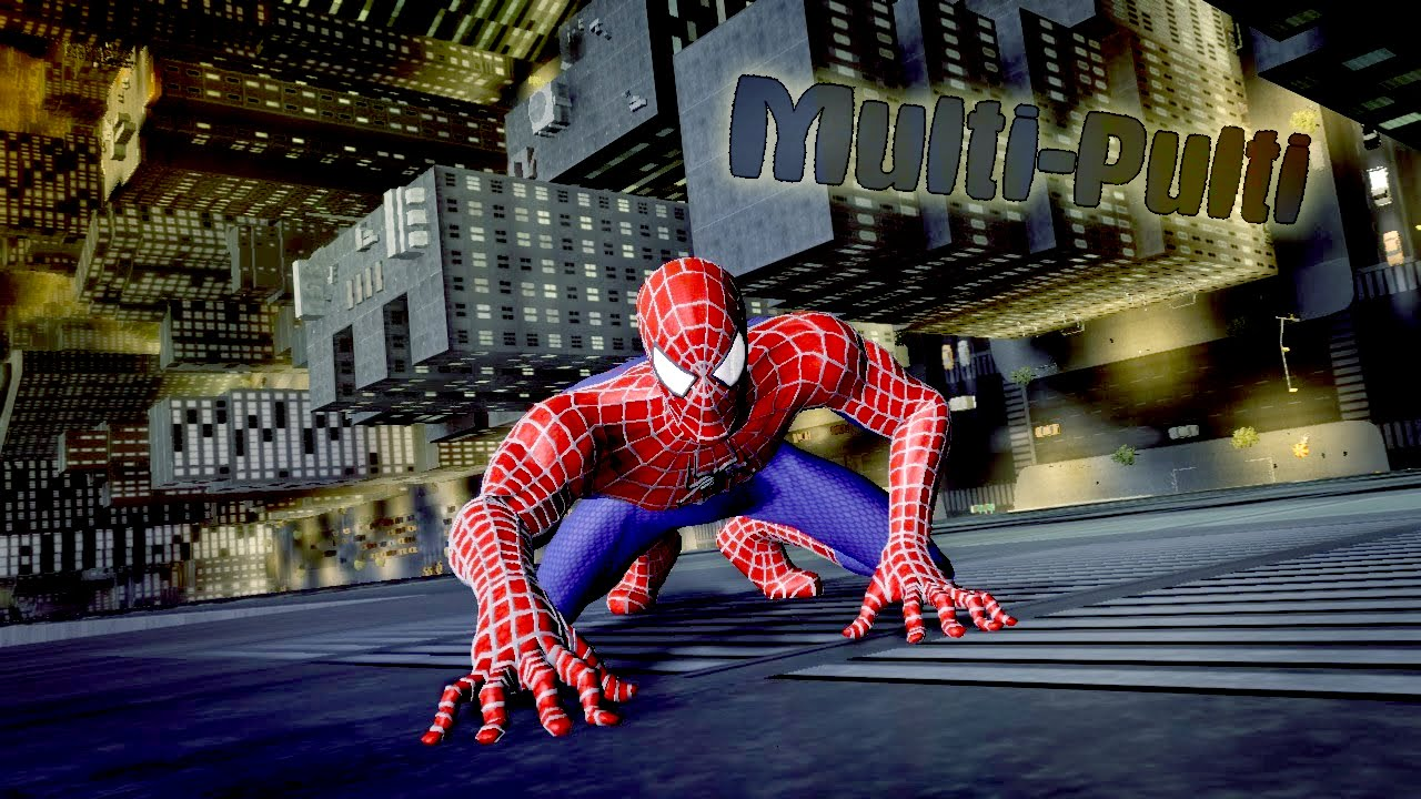 Картинки всех игр про человека паука