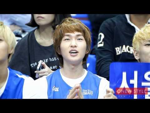 111016 Samsung thunders basketball - ONEW