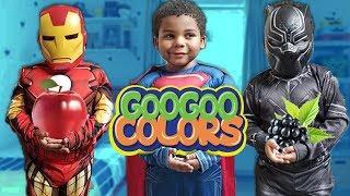 I'm A Superhero! (Learn To Eat Healthy with Goo Goo Colors)