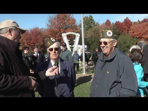 Churubusco Veterans Park Dedication  10-6-13