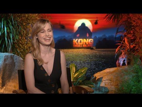 KONG SKULL ISLAND interviews - Tom Hiddleston, Brie Larson, Jackson, Goodman, Kebbell, Mitchell
