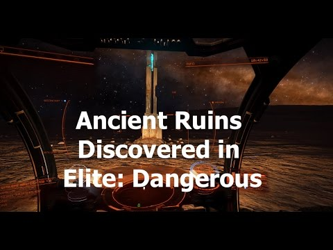 Ancient Ruins Discovered In Elite Dangerous (also, the quest for Engineers)
