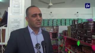 الحركة التجارية في الكرك مع اقتراب شهر رمضان