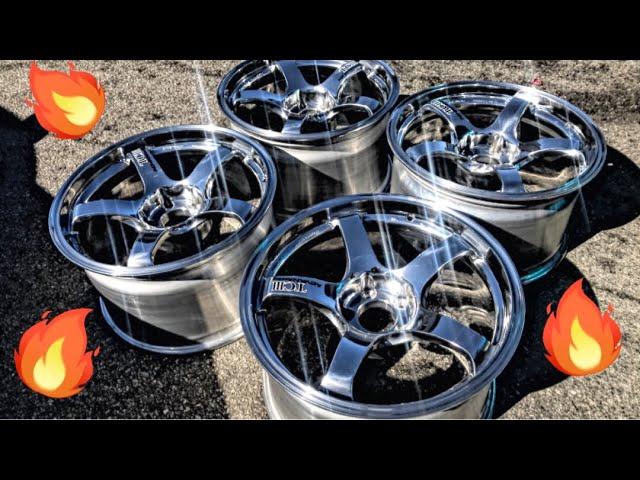 picking-up-my-custom-advan-wheels-for-the-evo-elite-tuner-vegas-prep