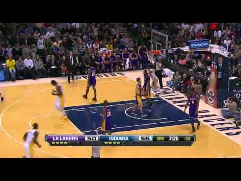 Los Angeles Lakers vs Indiana Pacers - March 15, 2013