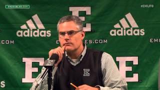 EMU Football Weekly Press Conference - Nov. 23, 2015