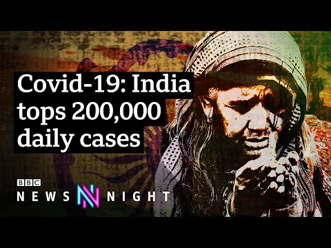 Why are Covid cases in India soaring? - BBC Newsnight