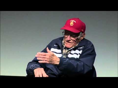 WWII hero and alumnus Louis Zamperini visits USC Annenberg class