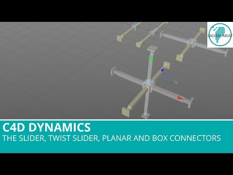 Dynamic Connectors In C4D - The Slider, Twist Slider, Planar and Box