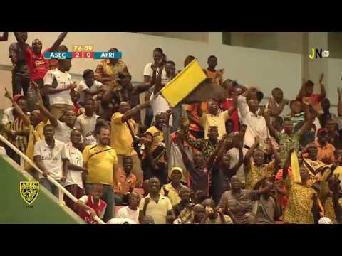 J-22 Ligue 1  ASEC Mimosas - Africa Sports Résumé