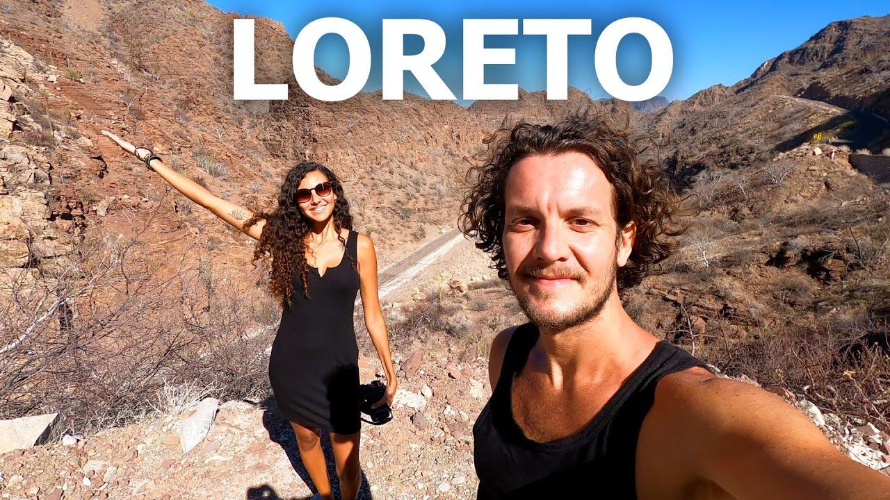 TRAVEL BAJA CALIFORNIA SUR 🇲🇽 EXPLORING LORETO (MEXICO)