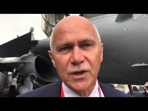 Paris Air Show 2015 - An Interview with French Defense Ministry Pierre Bayle