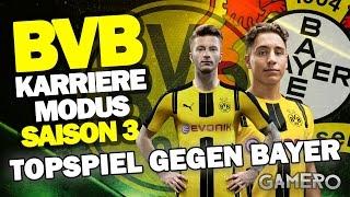 BUNDESLIGA TOPSPIEL Gegen BAYER 04 LEVERKUSEN ♕ FIFA 17 KARRIEREMODUS BVB DEUTSCH S3 #20