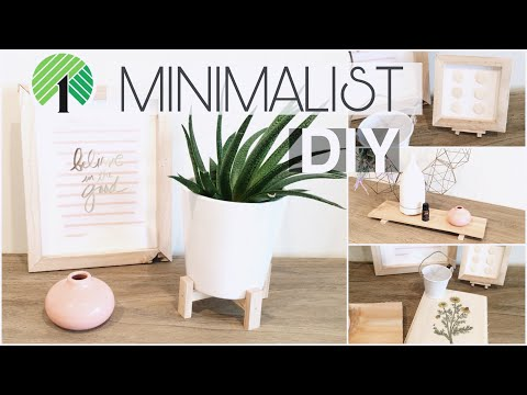 DOLLAR TREE DIY MINIMALIST DECOR