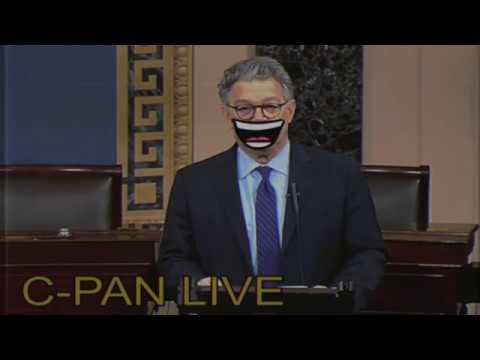 Senator Al Franken resigns from the United States Senate