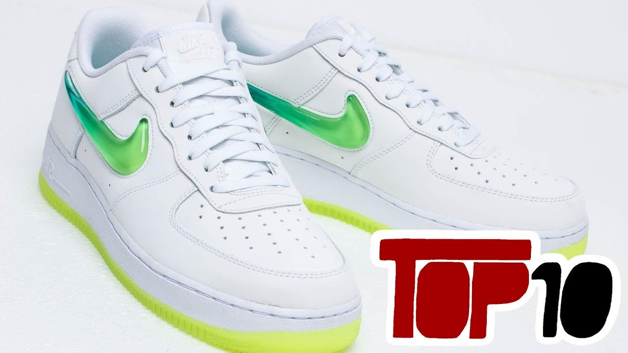 d2e4d356ce Top 10 Nike Air Force 1 Low Of 2019 - YouTube