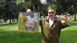 Starter RC Plane Review- Champ RTF by HobbyZone | EpicReviewGuys