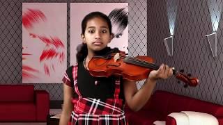 Yerusalem Nayaka  | abrahaminte santhathikal | violin cover (Irene)