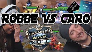 GIVEAWAY! ROBBE vs CapCaro RTA Matches|| Summoners War [Deutsch/German]