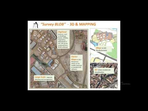 Learning how to use UAVs in land survey speedily and accurately with AIBLOB