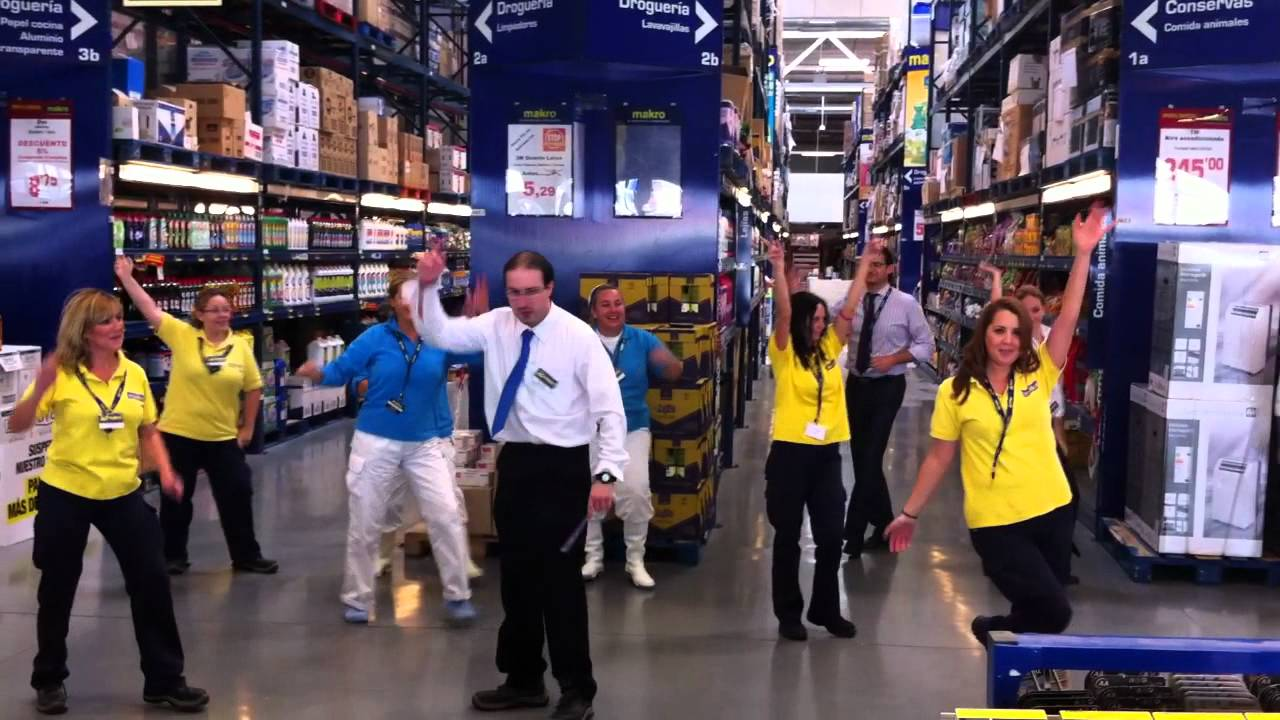 40 aniversario makro espa a youtube for Oficinas makro madrid