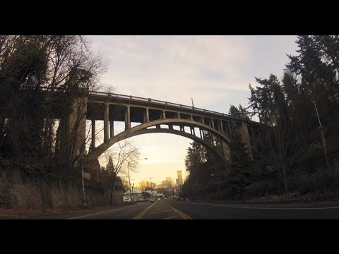 The Vista Bridge:  Portland's suicide machine