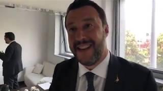 MATTEO SALVINI in diretta dagli studi di Mediaset di MILANO (24.05.2019)
