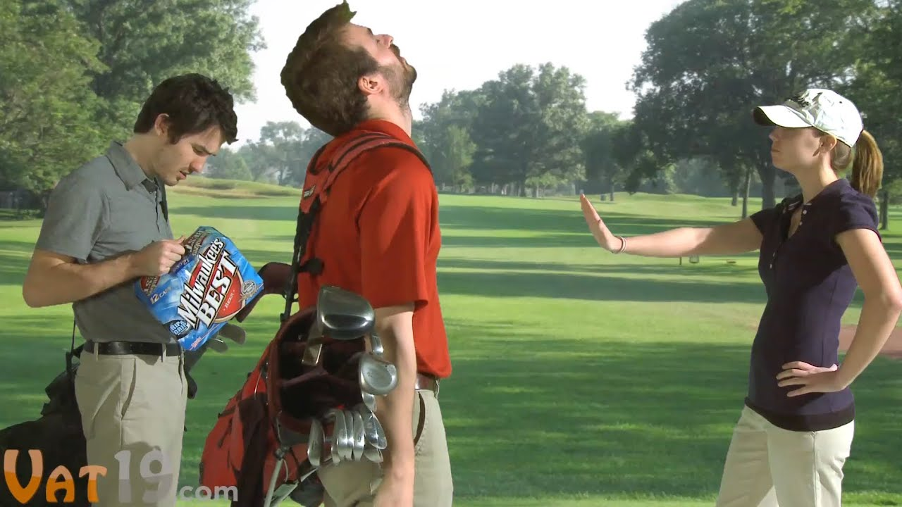 Sneak Beer On The Golf Course With The Covert Cooler Youtube