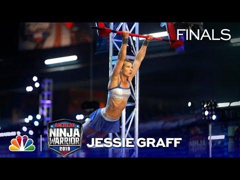 Dan Joyce - Jessie Graff Earns Trip To American Ninja Warrior Finals With Awesome Run