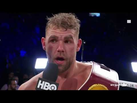 "Billy Joe Saunders schools David Lemieux and then calls out Gennady ""GGG"" Golovkin"