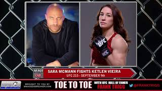 Frank Trigg pre-fight interview with UFC 215's Sara McMann
