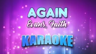 Evans, Faith - Again (Karaoke version with Lyrics)