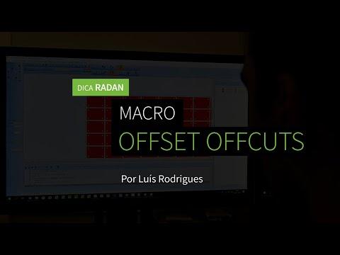 Dica 15 RADAN | Macro Offset Ofcuts