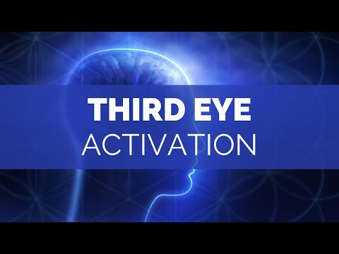 EXTREMELY POWERFUL THIRD EYE ACTIVATION  - PINEAL GLAND FREQUENCY - OPEN YOUR THIRD EYE FAST 288 HZ