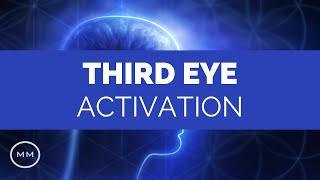 Third Eye Meditation - 288 Hz - Powerful Third Eye Activation - Meditation Music - Binaural Beats