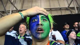 Repeat youtube video Seahawks Fan Reaction to Super Bowl Interception (NorbCam Selfie)