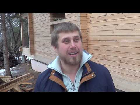 Дом из бруса Нижний Новгород Домокомплект 9х12 Гребенка