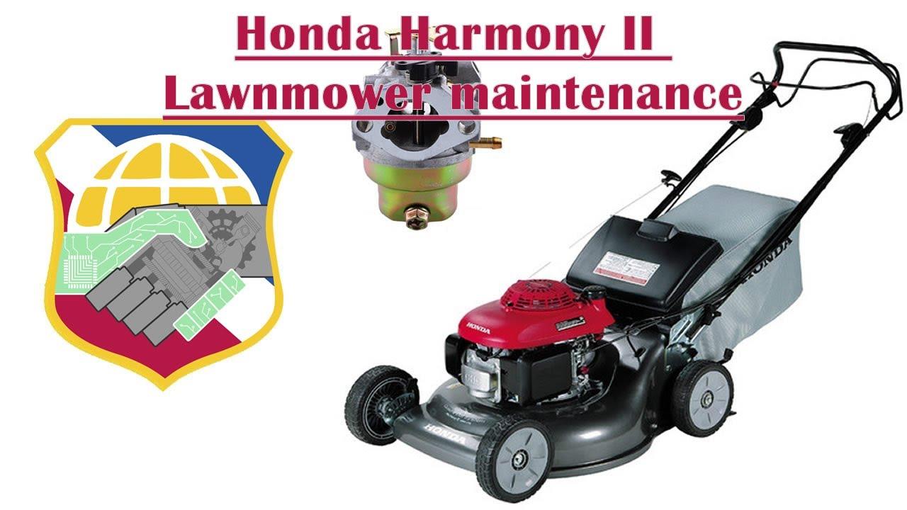 Honda Harmony Ii Lawnmower Wont Start Hrr216 Mower
