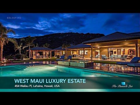West Maui Luxury Estate - 454 Wailau Pl, Lahaina, HI, USA - Luxury Home Showcase
