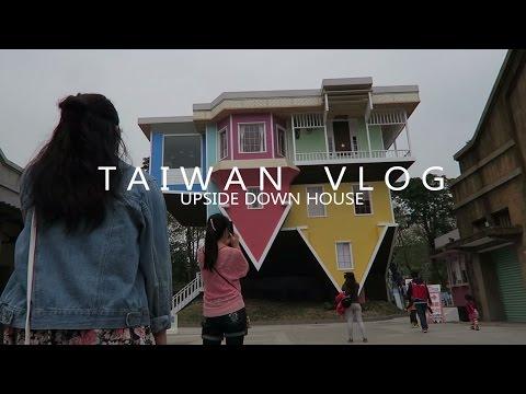 Upside Down House Taipei (華山1914文創園區) | TAIWAN VLOG