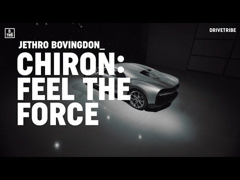 Riding shotgun in the 1500bhp Bugatti Chiron