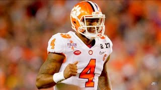 Best QB in Clemson Football History || Clemson QB Deshaun Watson 2016 Highlights ᴴᴰ